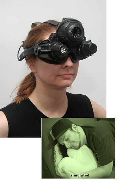 Finally, Night Vision Goggles Get Priced Low Enough for Cheapskate Perverts