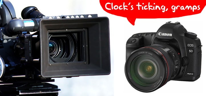 Giz Explains: Why DSLRs Are Finally Shooting Video
