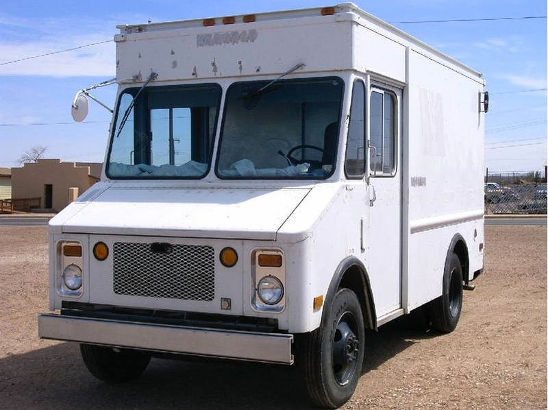 For $7,000, it's a step van-go