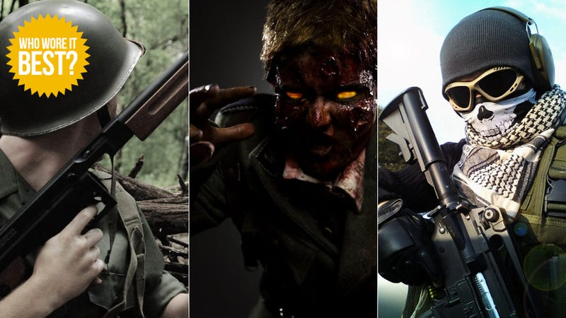 Call of Duty Is More Than Fancy Weapons. It's Also Fancy Outfits.