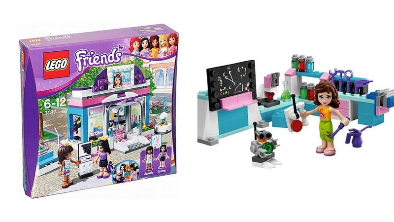 Lego Targets Girls With Pink Blocks, Cute Figures, & No Creativity