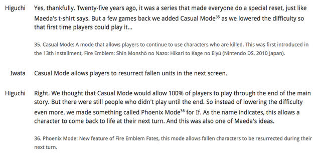 Iwata's Fire Emblem Interview Is Fascinating