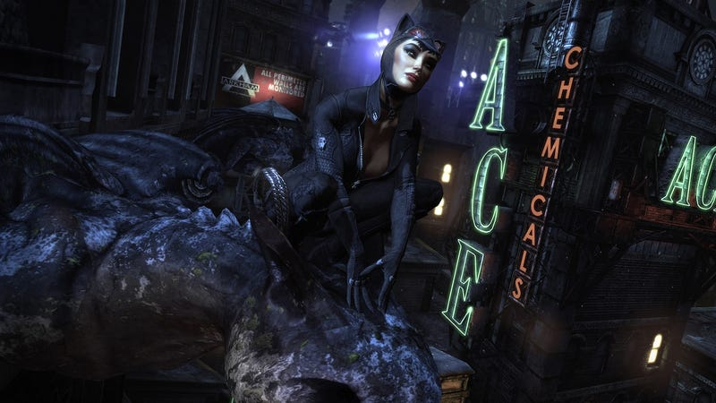 Riddles and Penguins and Cats and Bats: Just Another Night in Arkham City