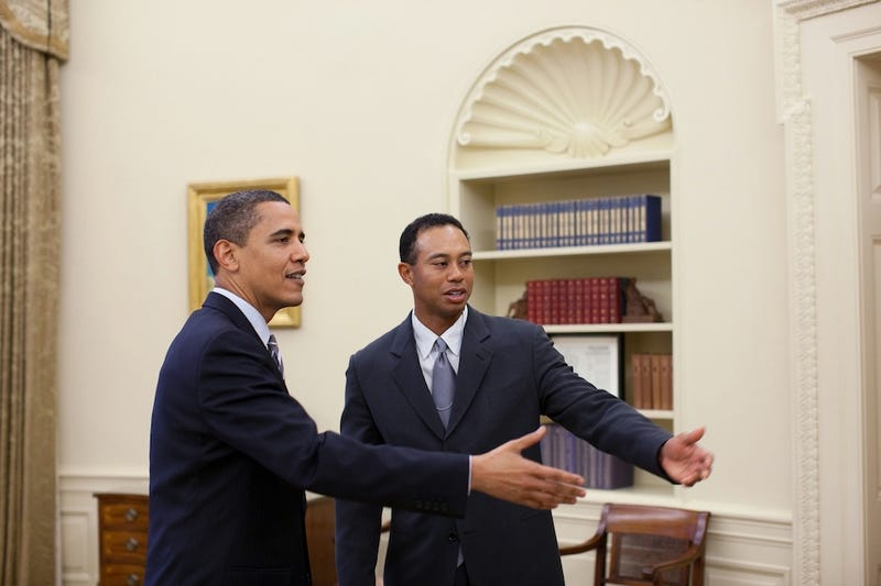 Tiger Woods And President Obama Play Golf Together, Constitute Nightmare Scenario For Old White Dudes