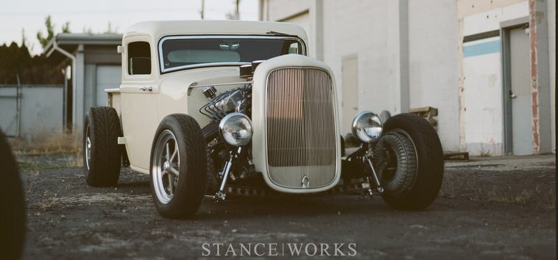 Stanceworks on an All-American Truck Hot Rod!