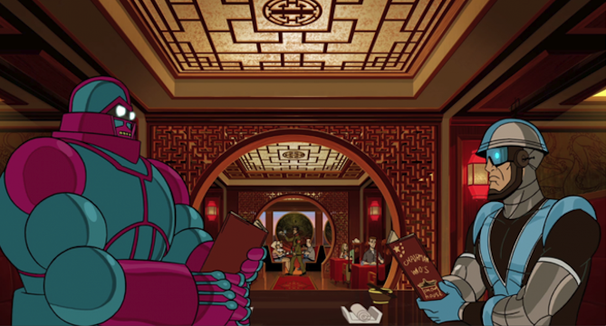 The Guild parties down as an OSI mission goes bad in Venture Bros.