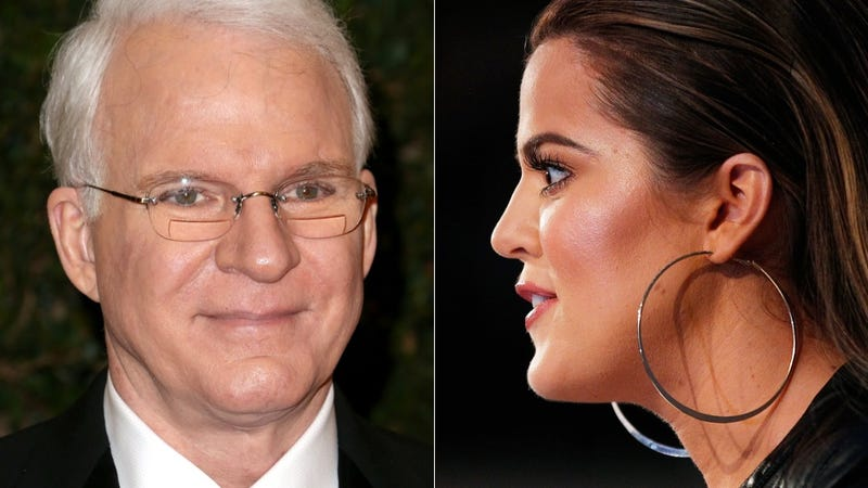 Steve Martin and Khloé Kardashian are Really and Truly 'Just Friends'