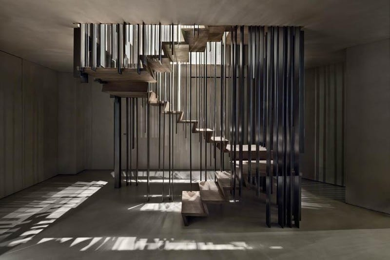 This Staircase Disappears When Viewed From The Perfect Angle