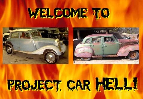 Project Car Hell, 1938 Edition: Mercedes-Benz or Graham-Paige