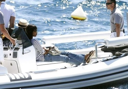 Naomi Campbell To Mull Subpoena From The Comfort Of Luxury Yacht