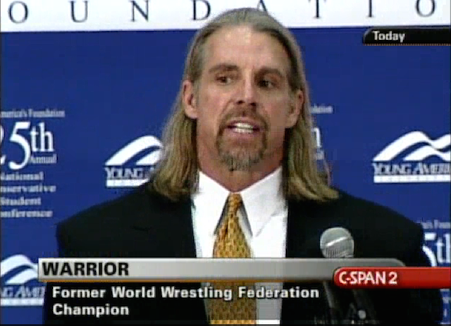 The Ultimate Warrior Was An Insane Dick
