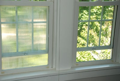 Increase Your Privacy with $16 DIY Window Frosting