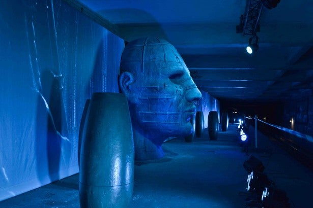 An abandoned French subway station was turned into the set of Prometheus