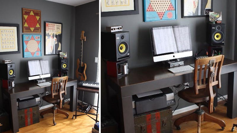 The Minimalist Musician's Workspace
