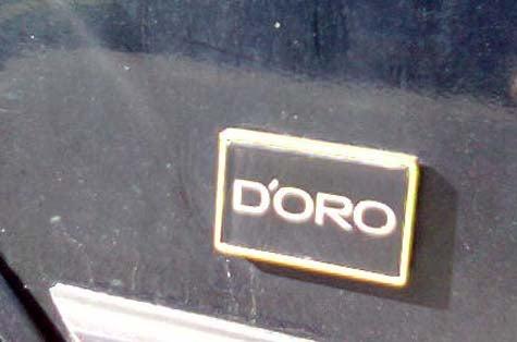 Down On The Street: Cimarron d'Oro!