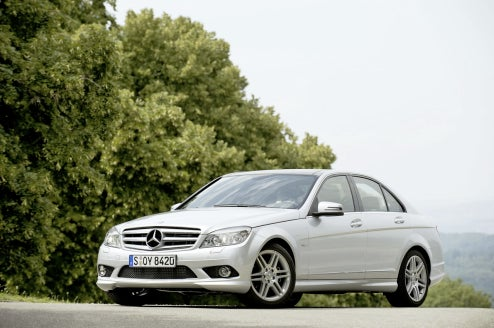 Mercedes C250 CDI BlueEFFICIENCY Prime Shows Off Next-Generation Benz Diesels