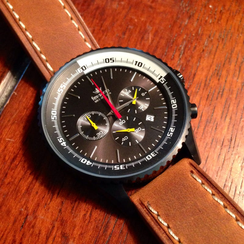 My Custom Designed/Made Watch Arrived!