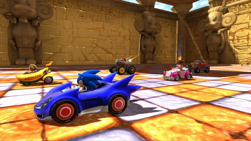 Sonic & Sega All-Stars Racing Review: Remaster System
