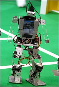 RoboCup Kicks Off