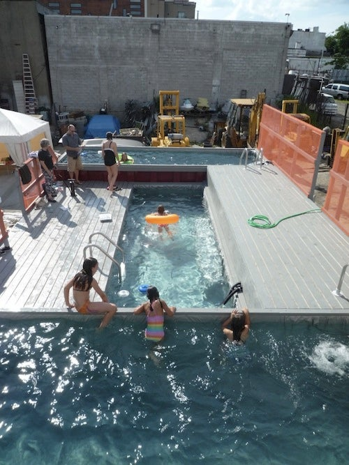 Dumpster Pools Headed to Manhattan