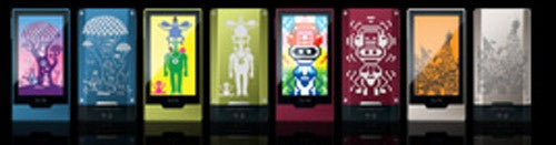 A Tiny Look at the Zune HD Color Options