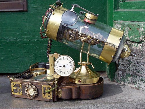 Say Coochycoo to the Steampunk Fetus