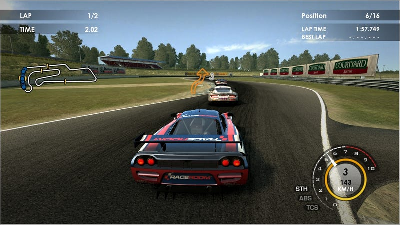 Hands On: RACE Pro