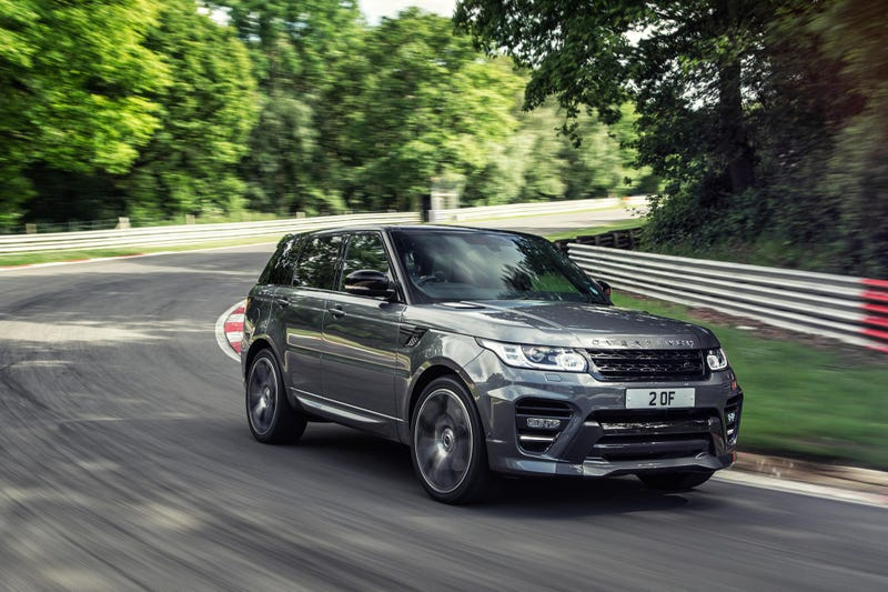 The Overfinch Range Rover Sport Is Your Bespoke SVR With 552 Horses