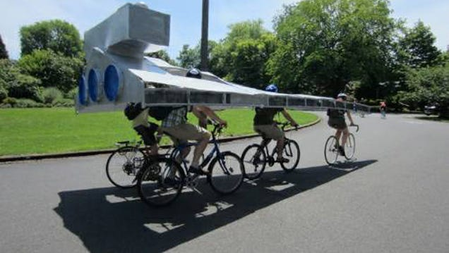 Someone Is Giving Away This Bike-Powered Star Destroyer On Craigslist