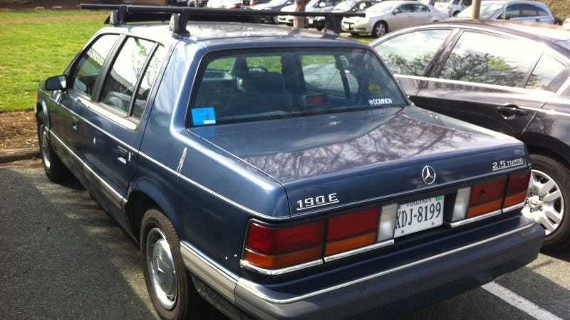 Fake Mercedes 190E