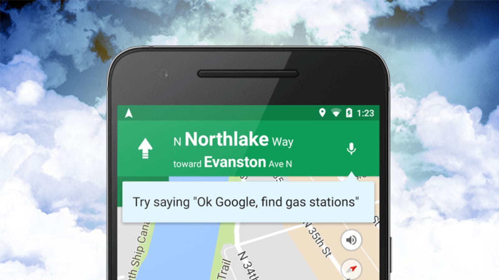 Google Maps For Android Gets Voice Search And Commands