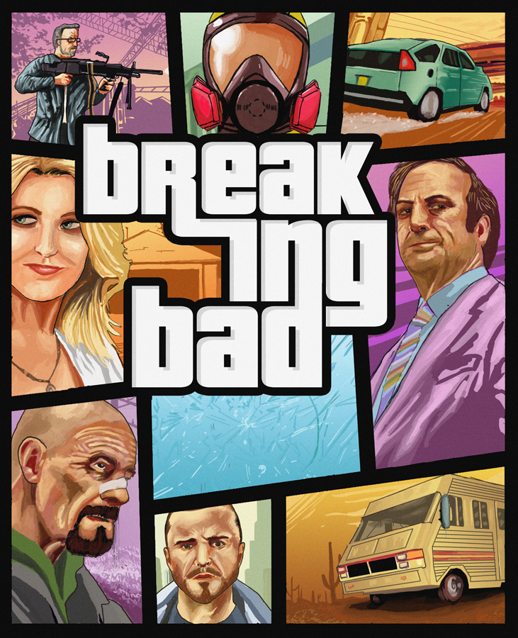 A Breaking Bad x Grand Theft Auto Crossover? Yes Please.