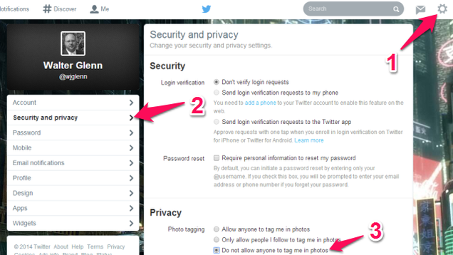How to Opt Out of Twitter's New Photo Tagging