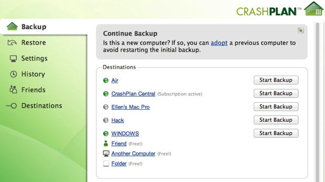 How to Move Your CrashPlan Backups to a New Computer