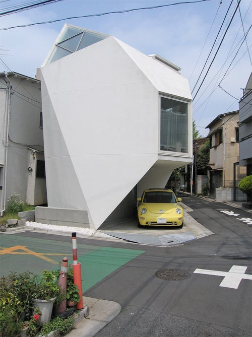 Polyhedron Tokyo House Measures 44m Sq. And Looks Like A Tooth