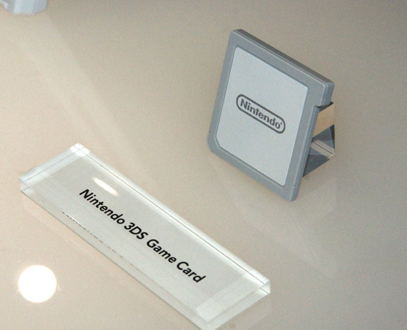 Would You Like To See The Nintendo 3DS's Cartridge?