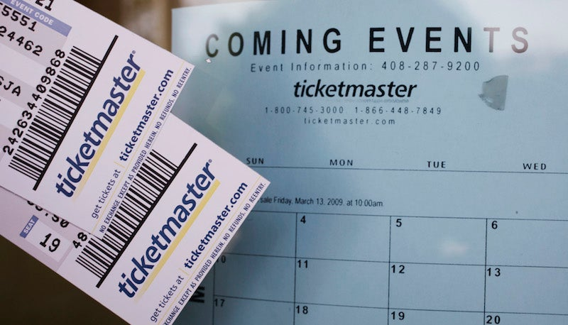 Here Are All the Concerts You Can Go See Using Your Ticketmaster Vouchers