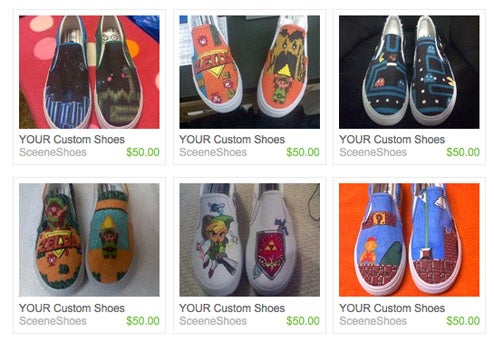 You Can Get YOUR Custom Game Shoes
