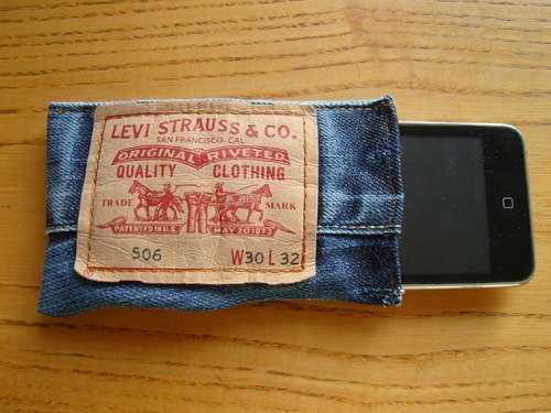 DIY Denim iPhone or Gadget Case Always Keeps Your Device in Your Pants