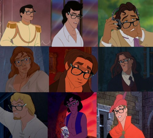 Hipster Disney Princesses take over the internet