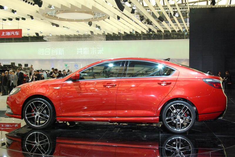 Roewe MG6 Turbo: Four-Door Coupe Heads To Europe