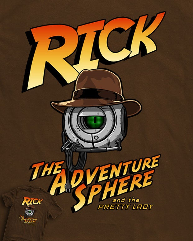 Harrison Ford Is Not Old Enough to Play Rick the Adventure Sphere