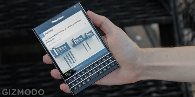 BlackBerry Passport Review: When the Best Isn't Good Enough