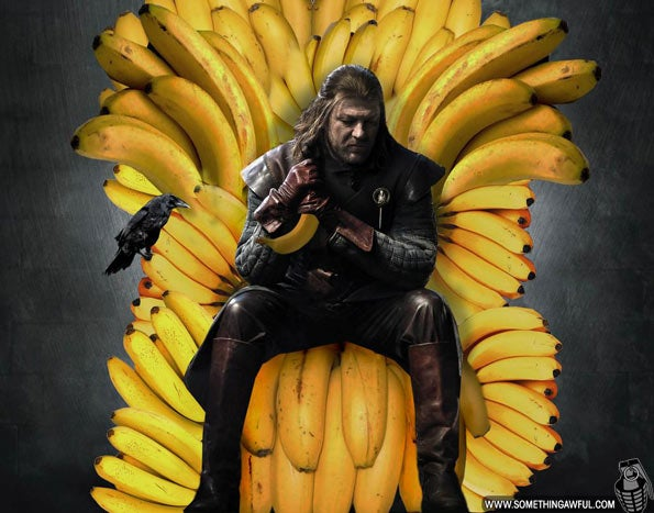 Turning swords into bananas enhances all your favorite fantasy stories