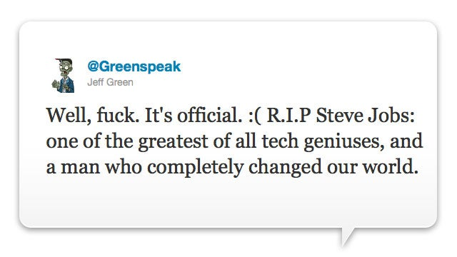 Video Game Creatives and Giants Offer Brief, Somber Tribute to Steve Jobs
