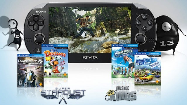 Sony Announces Games and Pricing for U.S. PlayStation Vita Launch