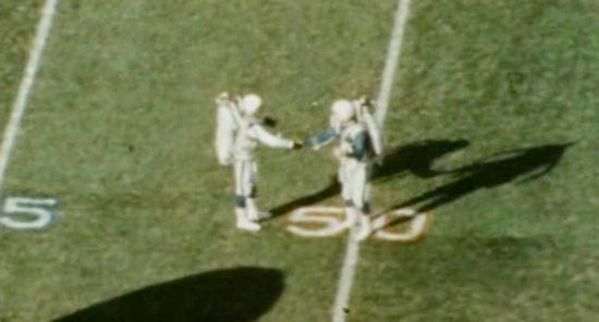 The Super Bowl's Love Affair With Jetpacks