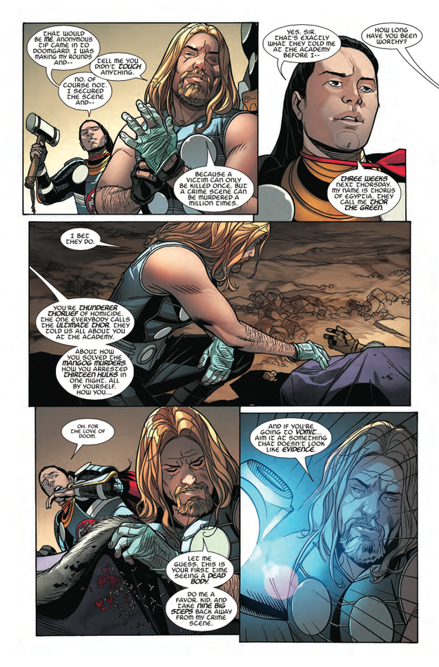 Marvel Comics Has Turned Thor Into The WireAnd It's Awesome