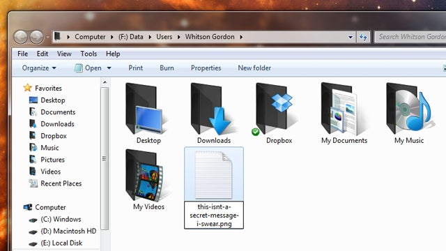 Faster Firefox, Tiny Serial Numbers, and Secret Files