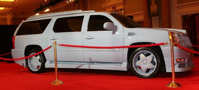 Christian Audigier Creates Snorkel-Nosed Custom Cadillac Escalade